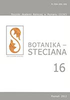 Botanika Steciana 16