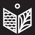 Logo WiŚGP białe na czarnym tle
